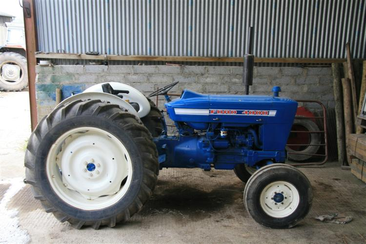 Ford 4000 Tractor Parts : Ford tractor cab for sale